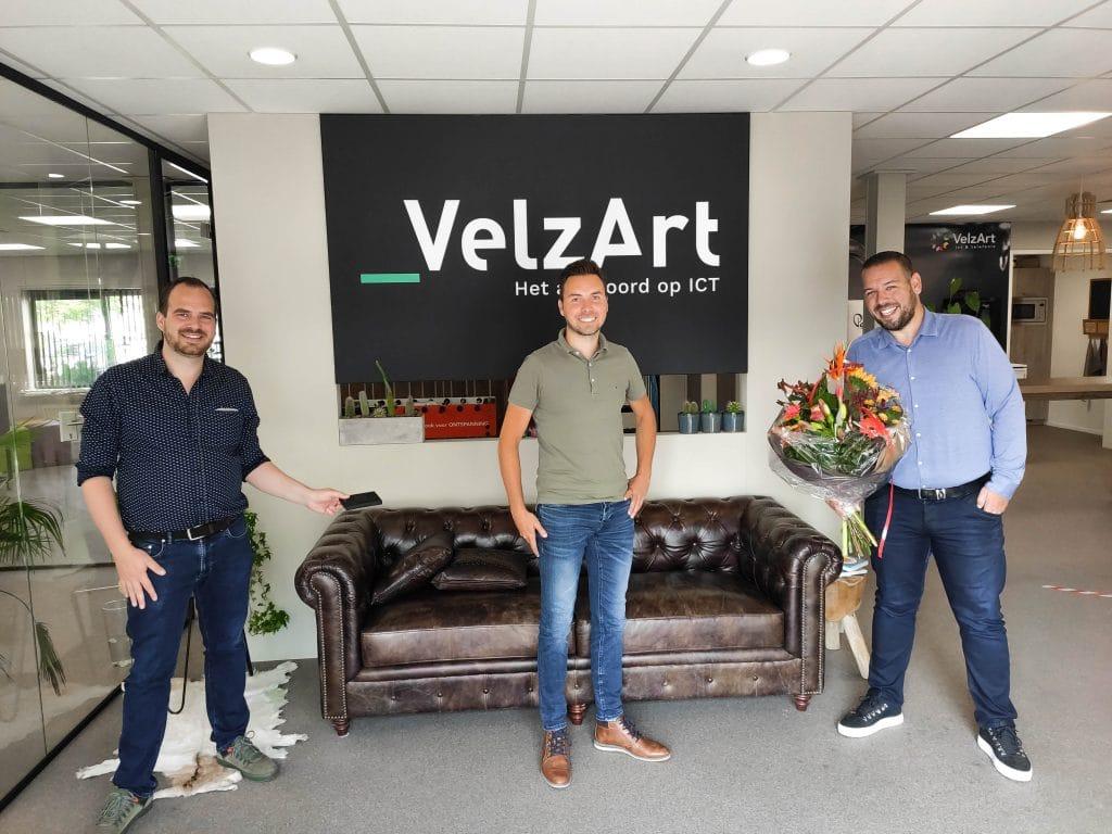 Mark Dekker 10 jaar in dienst - VelzArt